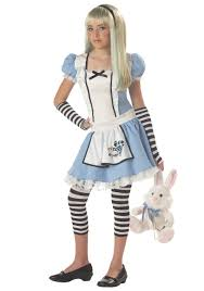 gurls halloween costumes tween alice girls costume teen alice in wonderland costumes