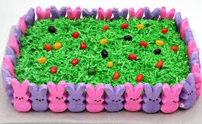 easter cake with peeps u2013 happy easter 2017