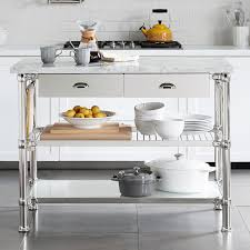 The Orleans Kitchen Island With Marble Top by Modular Kitchen Island With Marble Top Williams Sonoma