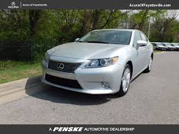 lexus toyota dealer 2013 used lexus es 350 4dr sedan at toyota of fayetteville serving