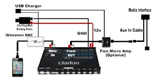 clarion equalizer wiring diagram clarion wiring diagrams collection