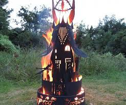 of sauron fire pit