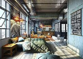 industrial apartments loft apartment interior design stupefy best 25 industrial ideas on