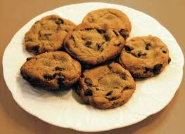 undomesticated me chocolate chip cookies for thanksgiving
