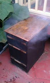 How To Paint A Filing Cabinet Filing Cabinet Smoker 11 Steps With Pictures