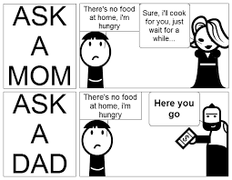 Memes About Dads - lol 12 funny mom vs dad memes what made me laugh pinterest