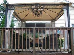 Gazebo Curtain Ideas by Outdoor Gazebo Lighting Vintage Some Ideas Outdoor Gazebo