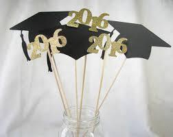 graduation cap centerpieces graduation centerpiece etsy