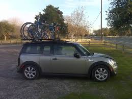 Q78 Clips by Yakima Roof Rak And Mounts On A Clubman North American Motoring