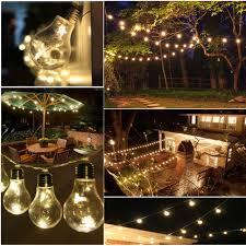led edison string lights vintage retro 2 5m indoor outdoor globe string lights clear edison