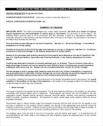 roof inspection report template 39 inspection report exles