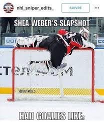 Hockey Goalie Memes - shea weber hockey 3 pinterest ice hockey shea weber and ice