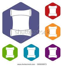 white beanie design template sample logos stock vector 105945737