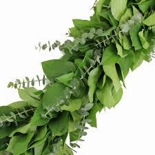 and salal greens garland