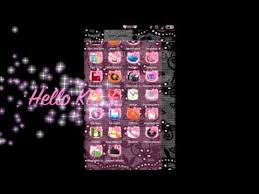 hello kitty themes for xperia c hellokitty theme for android youtube