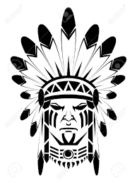 14968208 apache stock vector indian tribal jpg 974 1 300