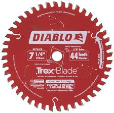 freud d0744cd trex composite decking circular saw blade ideal