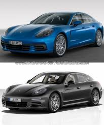 Porsche Panamera 2017 - 2017 porsche panamera vs 2014 porsche panamera in images