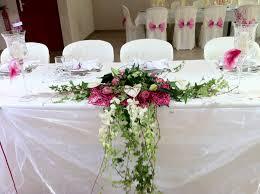 composition florale mariage fushia et blanc daysdream