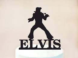 elvis cake topperelvis birthday cake topperrock n roll