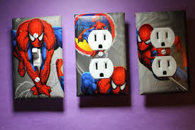 100 spiderman home decor amazon com spider man vinyl clock