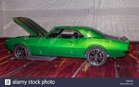 customized camaro customized chevrolet camaro car at sema stock photo royalty free