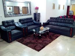 sofa set teak wood for living room with comfortable newest latest