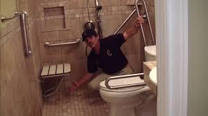 handicapped accessible bathroom designs incridible rms allenv bathroom shower wheelchair accessible sx jpg