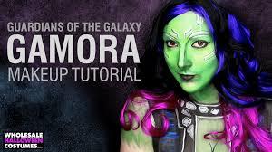 guardians of the galaxy gamora makeup tutorial wholesale