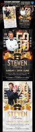 graphicriver steven u0027s birthday flyer template 1 daz3d and
