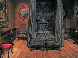 gothic interior design victorian gothic interior this black bed is extreme and a bit but