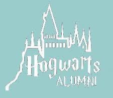 hogwarts alumni sticker harry potter hogwarts alumni castle 5 5 diecut vinyl decal