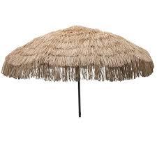 Tiki Patio Umbrella Palapa Tiki 7 6 Patio Umbrella Free Shipping Today Overstock