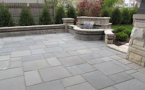Flagstone Patio Installation Cost by Bluestone Patio Flagstone Patio Against House Youtube