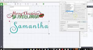 how to use samantha font in design space babelmap charactermap