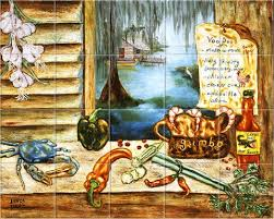 kitchen mural backsplash tile murals kitchen backsplash tile