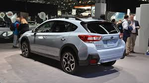 subaru crosstrek 2018 subaru crosstrek gets more power fresh look for new york