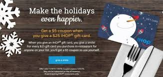 ihop gift cards expired restaurant gift card deals eatdrinkdeals