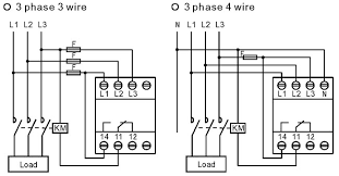 difference between wiring of 3 phase 3 wire and 3 phase 4 wire