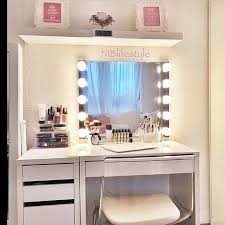 Ikea White Vanity Table Best 25 White Vanity Desk Ideas On Pinterest White Makeup