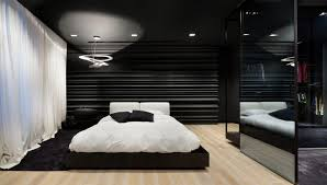 Red White And Black Bedroom - bedroom ideas amazing cool sophisticated black white bedroom