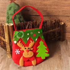 popular style christmas decorations danta claus gift bags