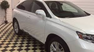 lexus hybrid car tax 2010 10 lexus rx450h se l 3 5 v6 cvt hybrid automatic for sale