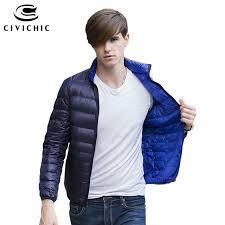 plus size light jacket civichic new winter plus size ultra light down jacket men soft