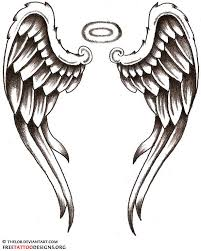 angel tattoos angel wings guardian angel and st michael designs