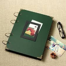 vertical photo album 36 26cm 76p large green horizontal vertical photo album diy