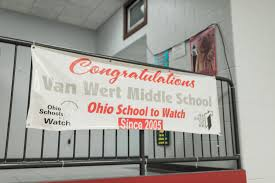 Van Wert Ohio Map by Van Wert City Schools