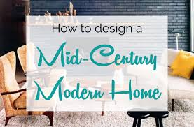 Midcentury Modern - mid century modern design u0026 decorating guide froy blog