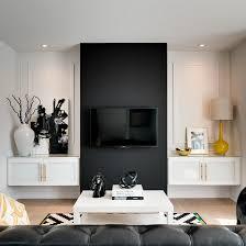 living black tv wall design flat screen tv design ideas stands