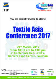 Invitation Card For Conference Sample Textile Asia Conference 2017